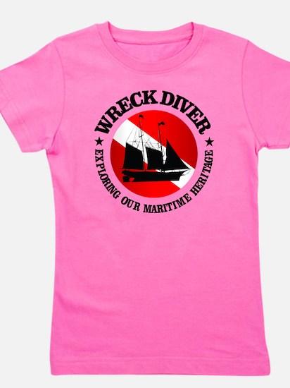 Wreck Diver (Ship) Girl's Tee