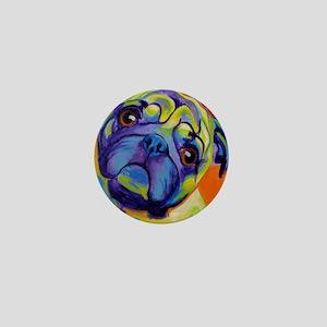 Pug #10 Mini Button