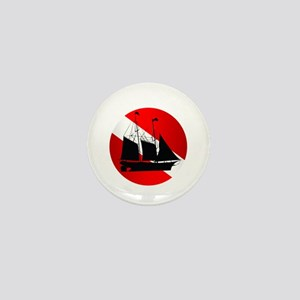 Wreck Diver (Ship) Mini Button