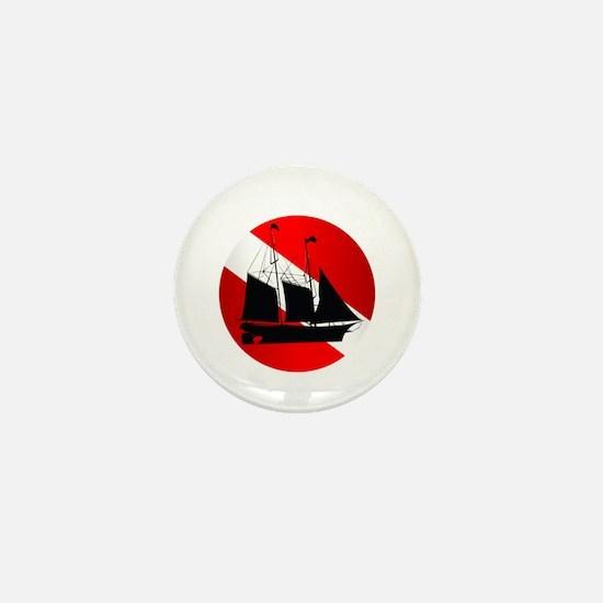Wreck Diver (Ship) Mini Button