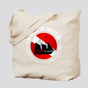Wreck Diver (Ship) Tote Bag