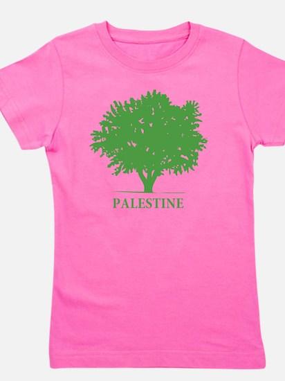 Palestine olive tree Girl's Tee