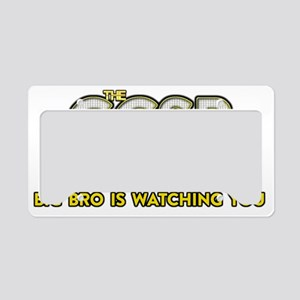 The GCSB License Plate Holder