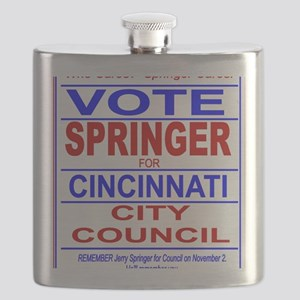 Vote Springer for Cincinnati Flask