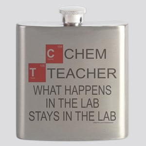 CHEMISTRY TEACHER T-SHIRTS AND GIFTS Flask