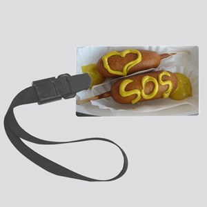 Love SOS Large Luggage Tag