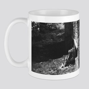 Brick Wall Gray Mug