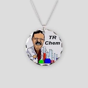 TR Chem Necklace Circle Charm