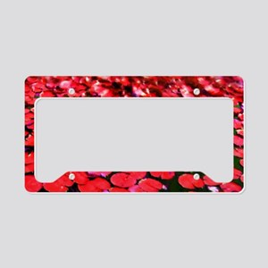 Painted Rds Lilly-pads License Plate Holder