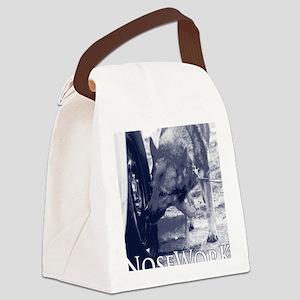 German Shepard Dog Nose Work K9 Canvas Lunch Bag