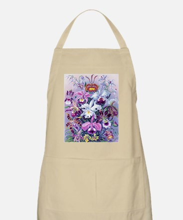 Cattleya Lady Slipper Orchids 16x20 Poster Apron
