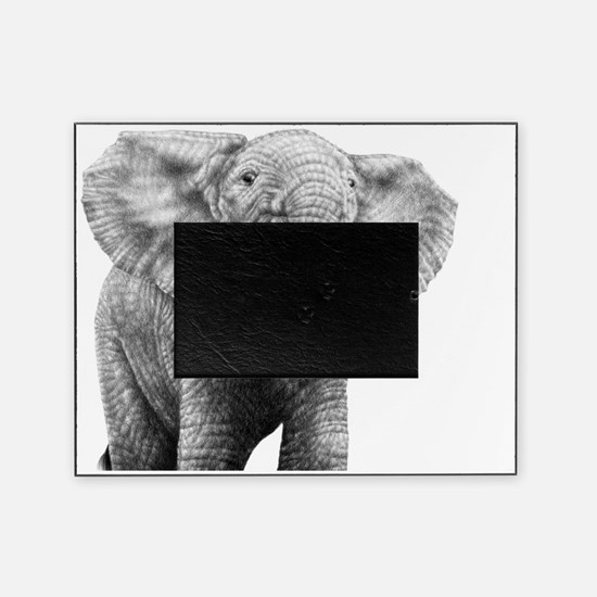Baby African Elephant 5x7 Rug Picture Frame