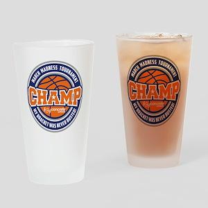 MarchMadnessChamp Drinking Glass