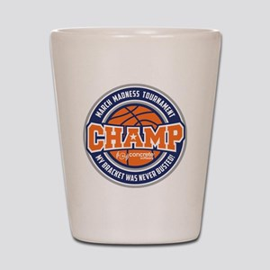 MarchMadnessChamp Shot Glass