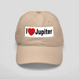 I Love Jupiter Cap