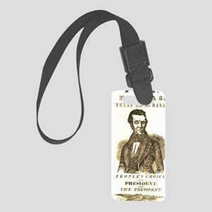 Polk for President Small Luggage Tag