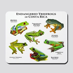 Endangered Tree Frogs of Costa Rica Mousepad