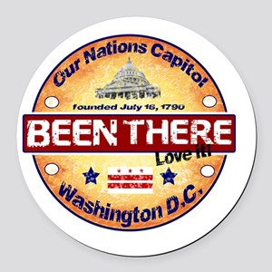 boy scout special order Round Car Magnet