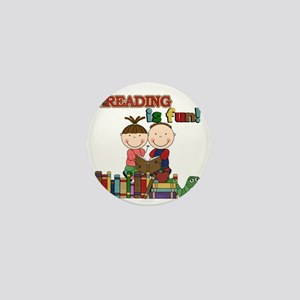 Reading is Fun Mini Button