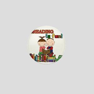 Reading is Fun Mini Button