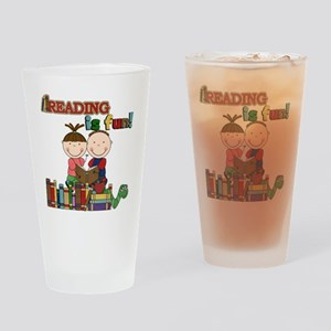 Reading is Fun Drinking Glass
