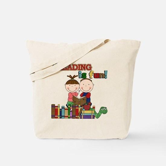 Reading is Fun Tote Bag