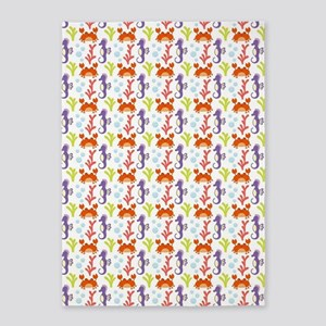 cute under the sea pattern 5'x7'Area Rug