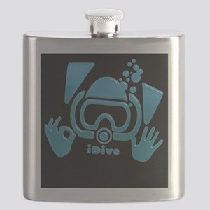 idive OK blue iphone Flask