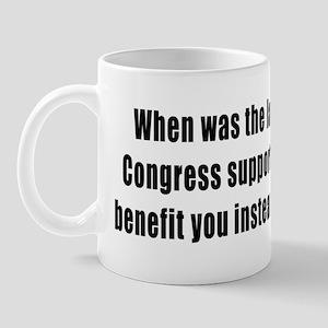 Congress looks out for big business, no Mug