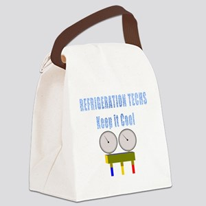 Refrigeration techs keep it cool Canvas Lunch Bag