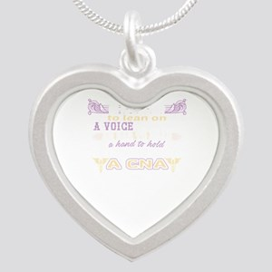 A Heart To Care A CNA Nurse Necklaces
