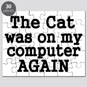 My Cat was on my computer again Puzzle