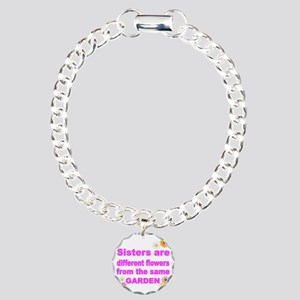 SISTER ARE DIFFERENT FLO Charm Bracelet, One Charm