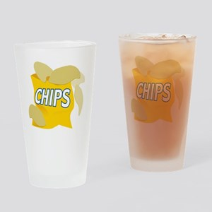 bag of potato chips Drinking Glass