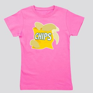 bag of potato chips Girl's Tee
