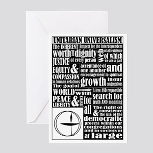 Unitarian Universalist Principles Greeting Card