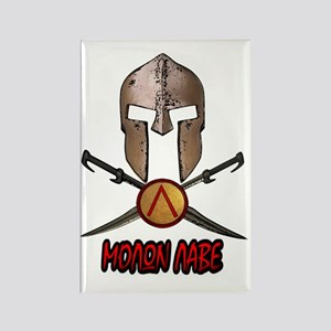 Spartan Molon Labe Rectangle Magnet