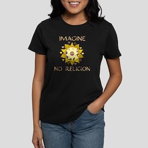 Imagine No Religion Women's Dark T-Shirt