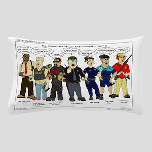 Characters of Law Enforcement 2 Pillow Case