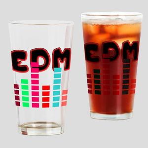 EDM - Equalizer Shirt Drinking Glass