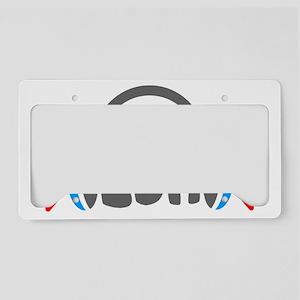 EDM - Headphones Shirt License Plate Holder