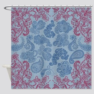 Henna Shower Curtain