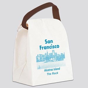 SanFrancisco_10x10_v1_AlcatrazIsl Canvas Lunch Bag