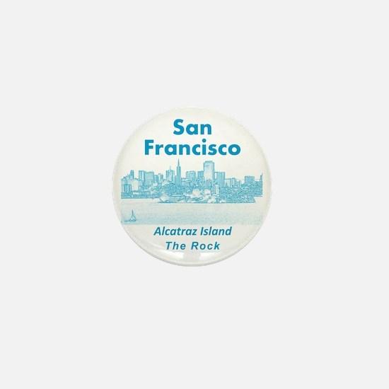 SanFrancisco_10x10_v1_AlcatrazIsland_B Mini Button