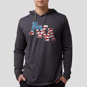 Lambda Chi Alpha Stars Mens Hooded Shirt