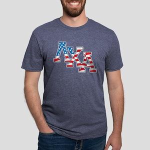Lambda Chi Alpha Stars Mens Tri-blend T-Shirt