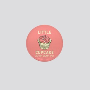 Alpha Sigma Tau Little Cupcake Mini Button