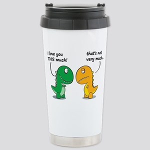 Cute Dinosaurs Stainless Steel Travel Mug