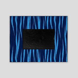 Blue Big Cat Fur Picture Frame
