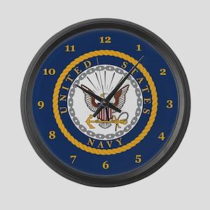 U.S. Navy Large Wall Clock